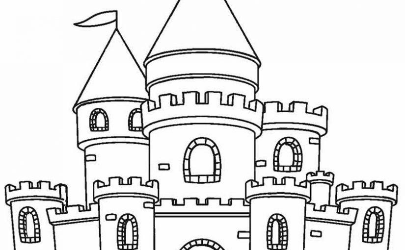 castle coloring pages 2