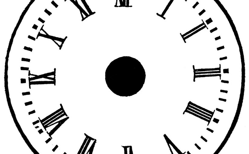 Clock Face Printable for Time Management