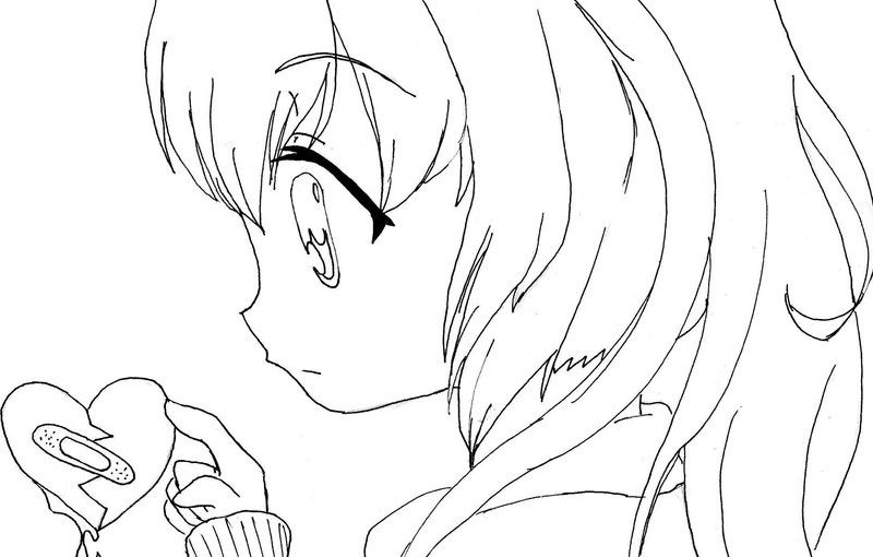 Cute Anime Coloring Pages With Cute Style