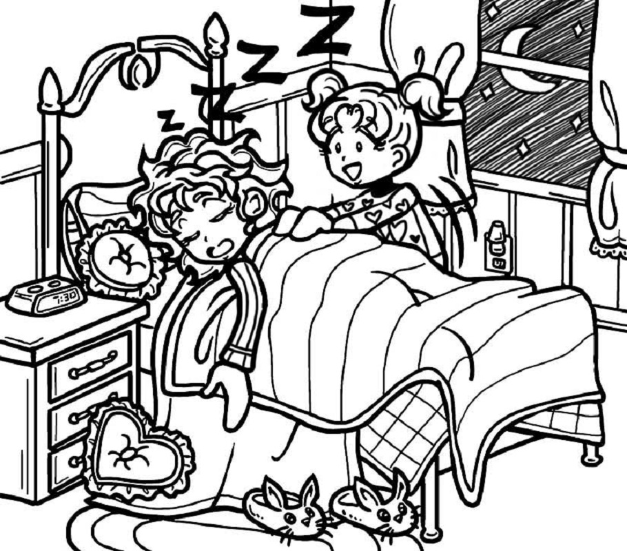 dork diaries coloring pages 5