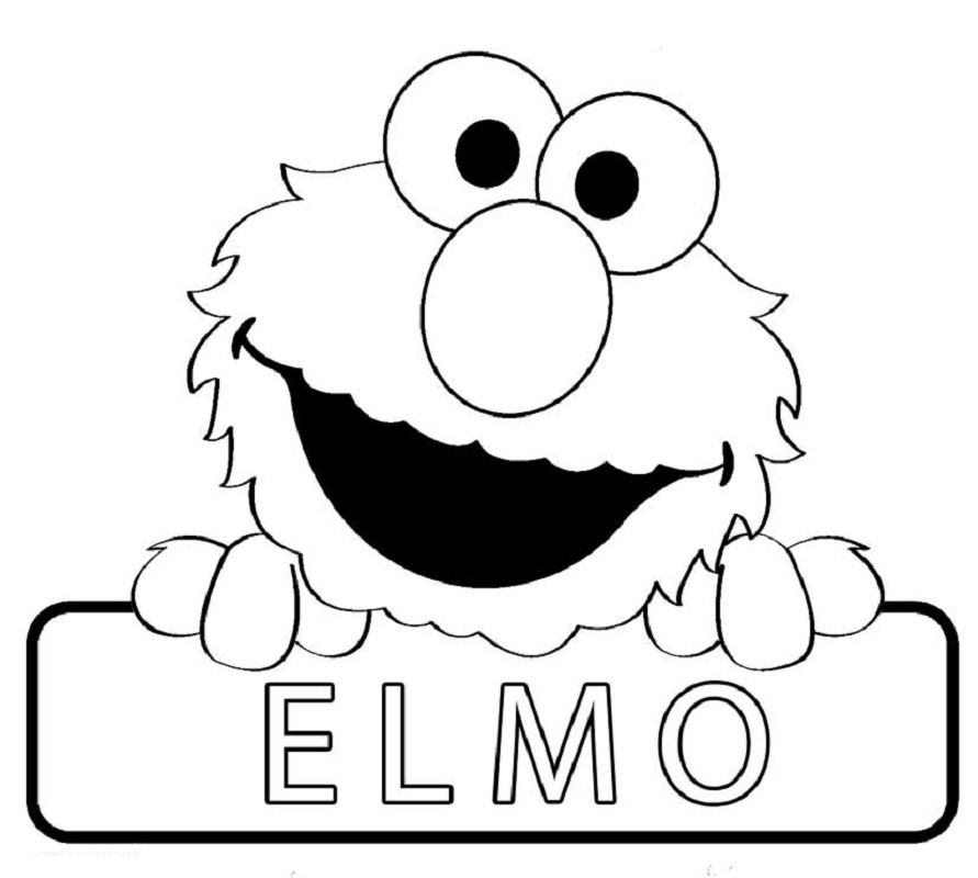 elmo coloring pages 3