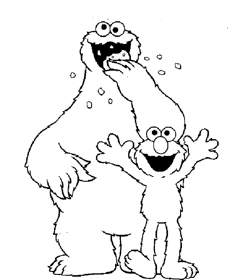 elmo coloring pages 5