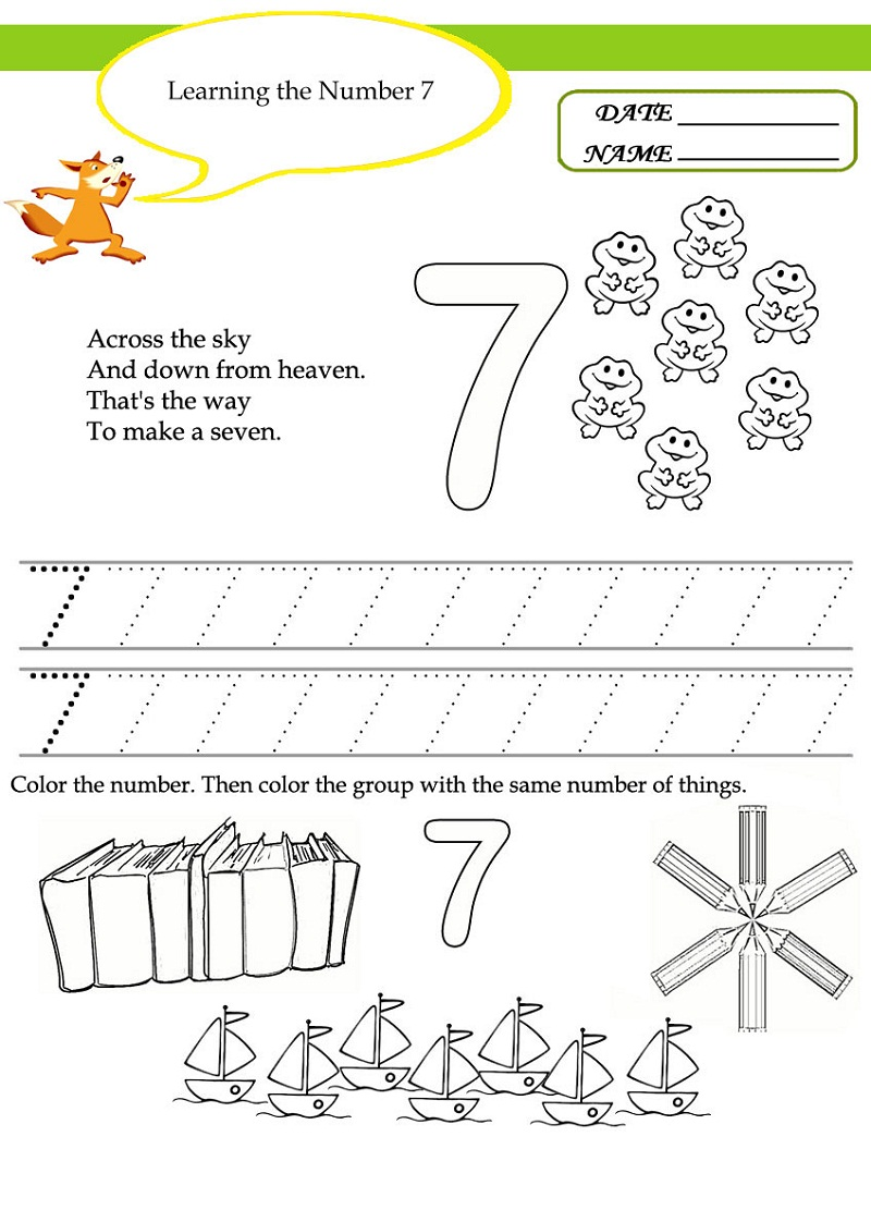 free preschool worksheets 2