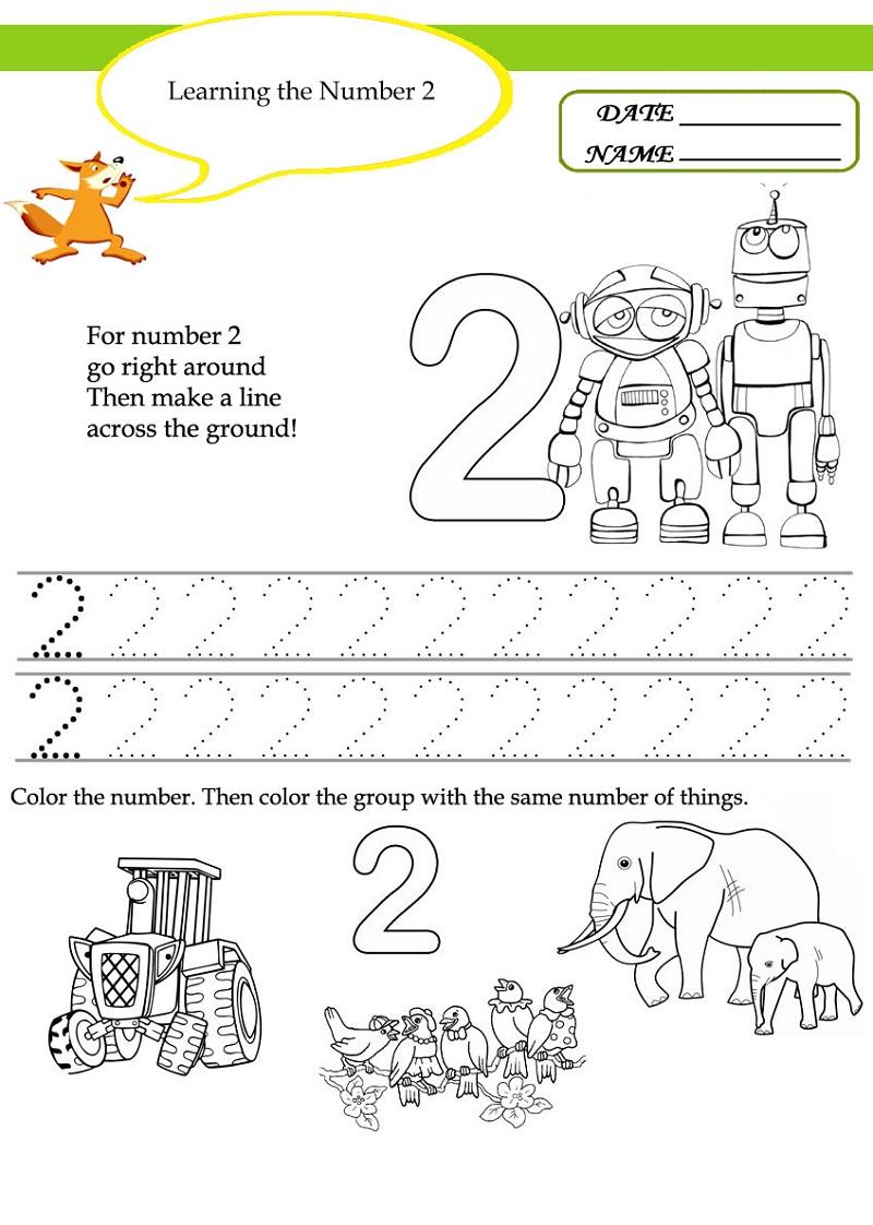 free preschool worksheets 5
