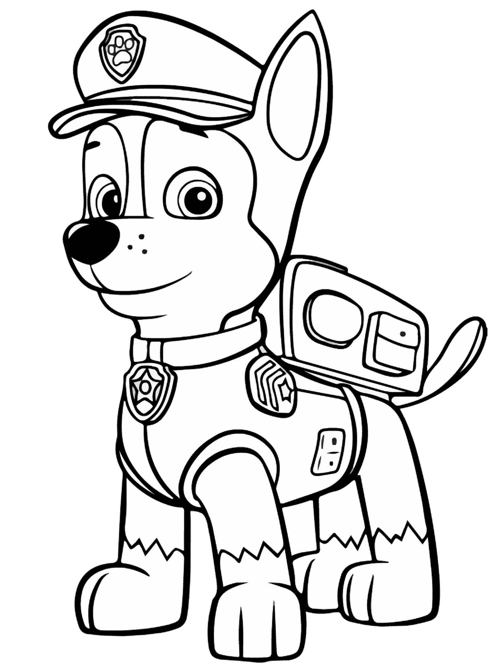 free printable paw patrol coloring pages 1