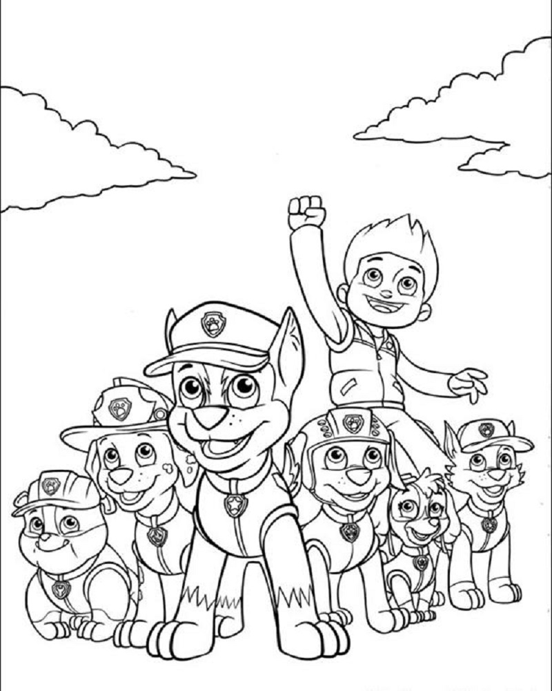 free printable paw patrol coloring pages 4