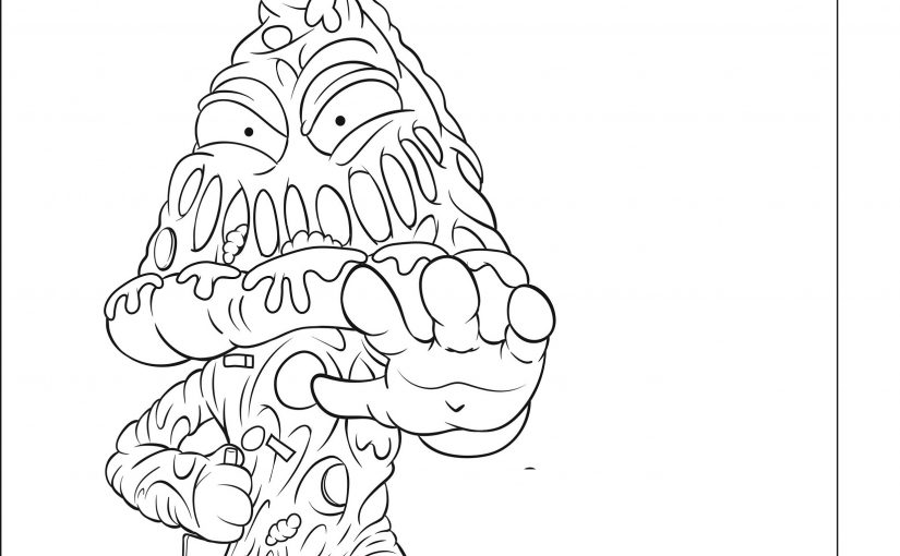 Grossery Gang Coloring Pages for The Gang Lovers