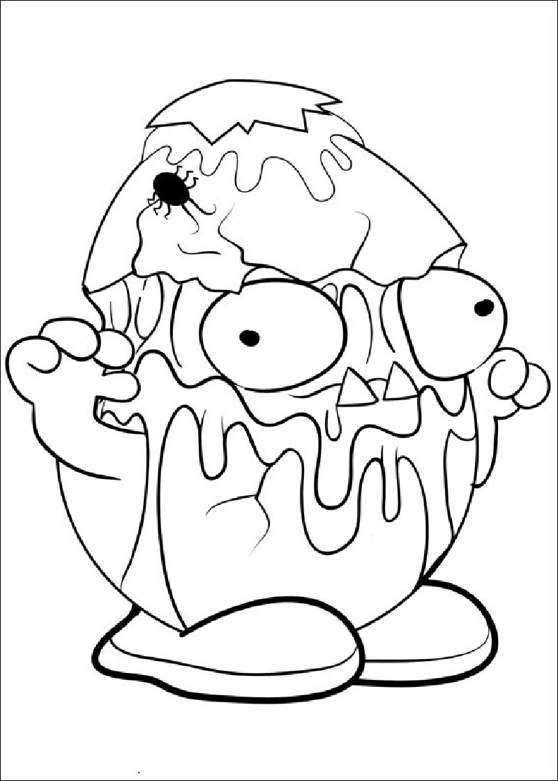 grossery gang coloring pages 4