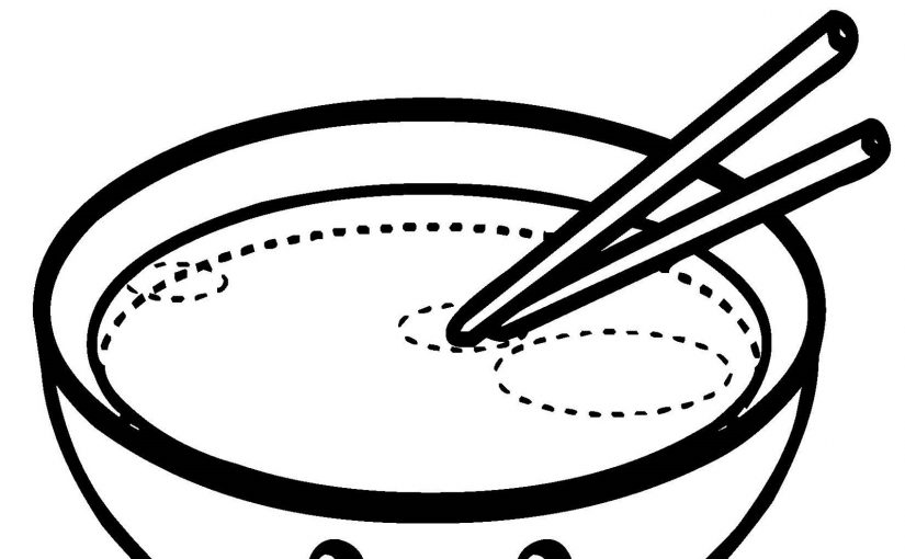 Kawaii Food Coloring Pages for Free Usage