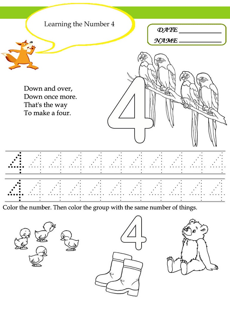 learning activities for preschoolers printables 1