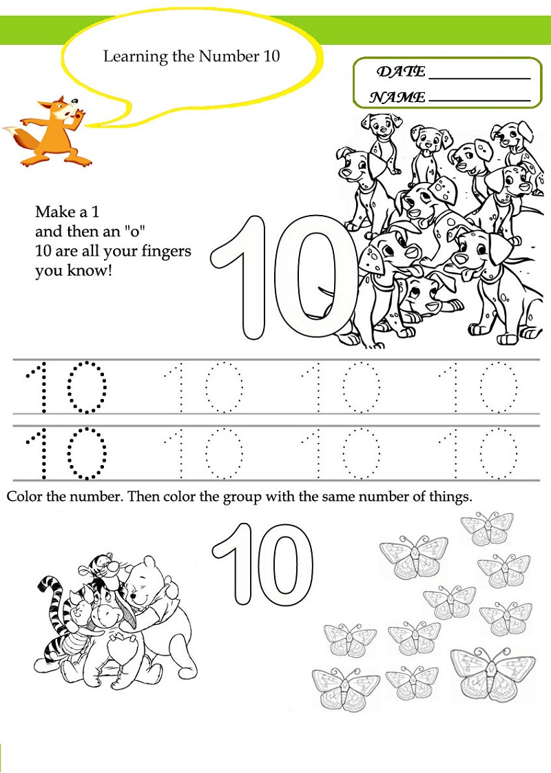 learning activities for preschoolers printables 2