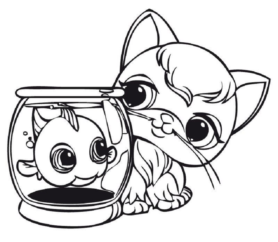 littlest pet shop coloring pages 3