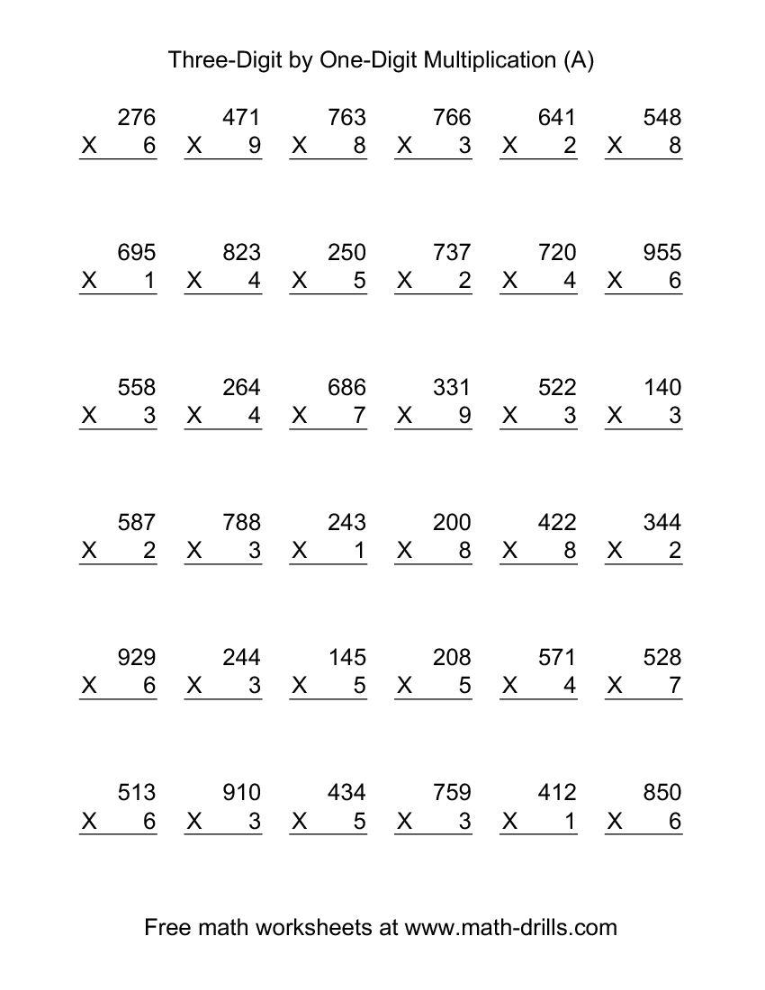 mathematics printable worksheets 2