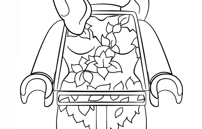 Poison Ivy Coloring Pages For Quick Usage