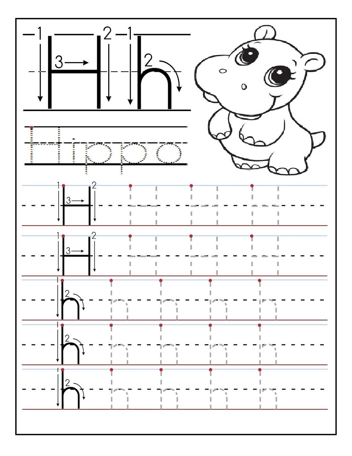 preschool alphabet worksheets 5