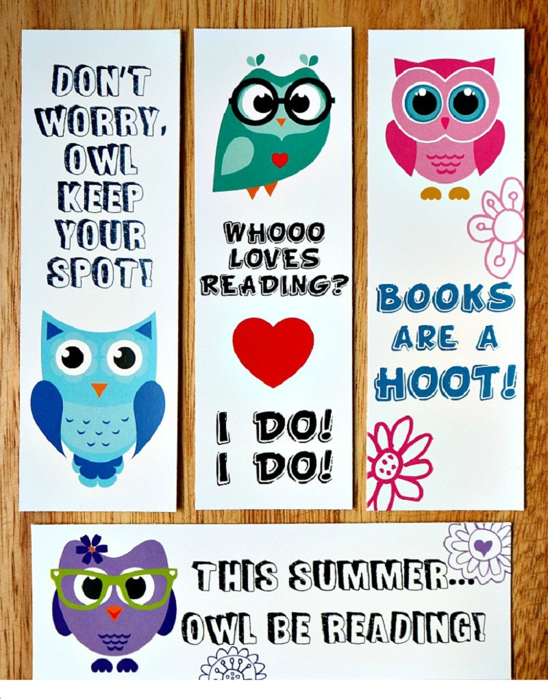 printable bookmarks for kids 3