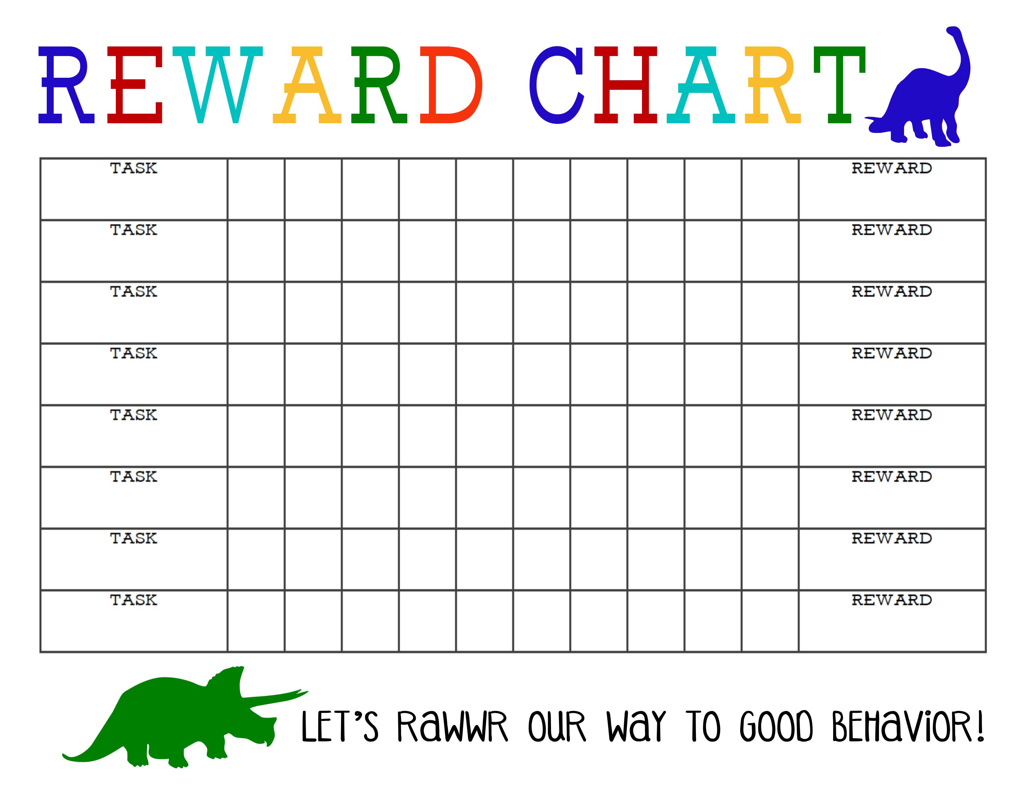 printable reward charts 3