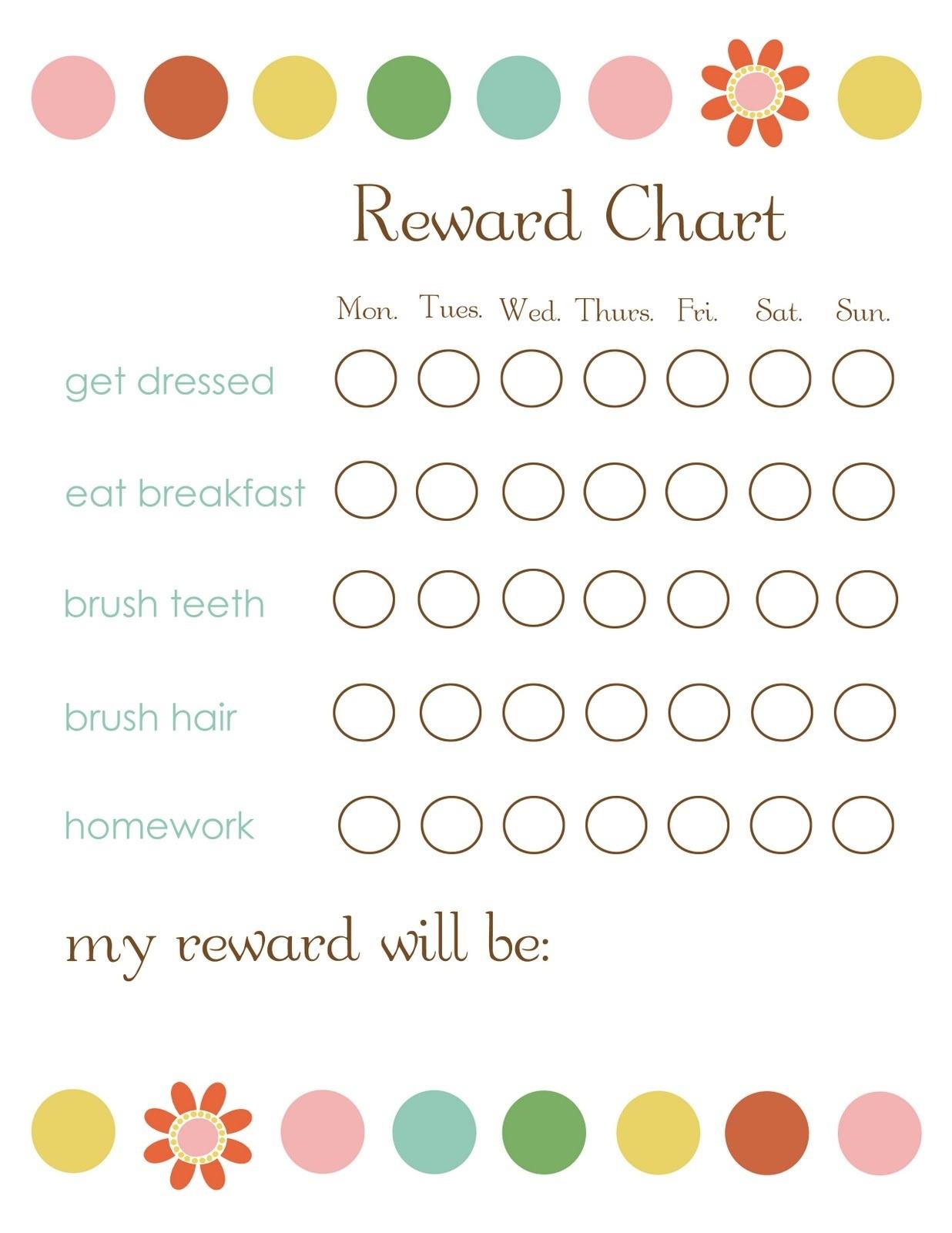printable reward charts 4