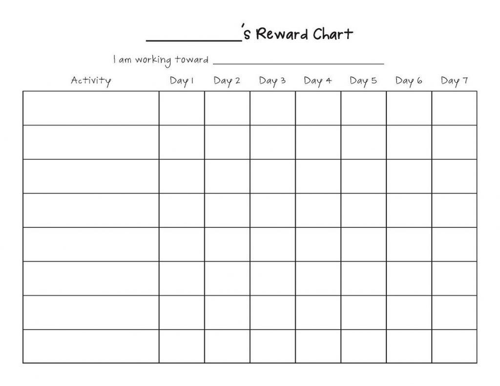 printable reward charts 5