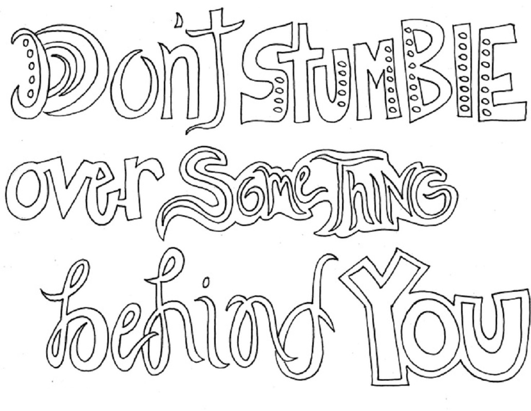 sayings coloring pages 5