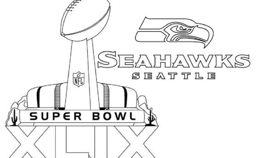 Seahawks Coloring Pages For Free Download