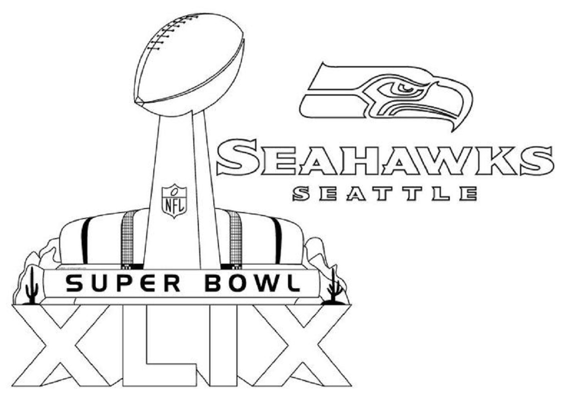 seahawks coloring pages 1