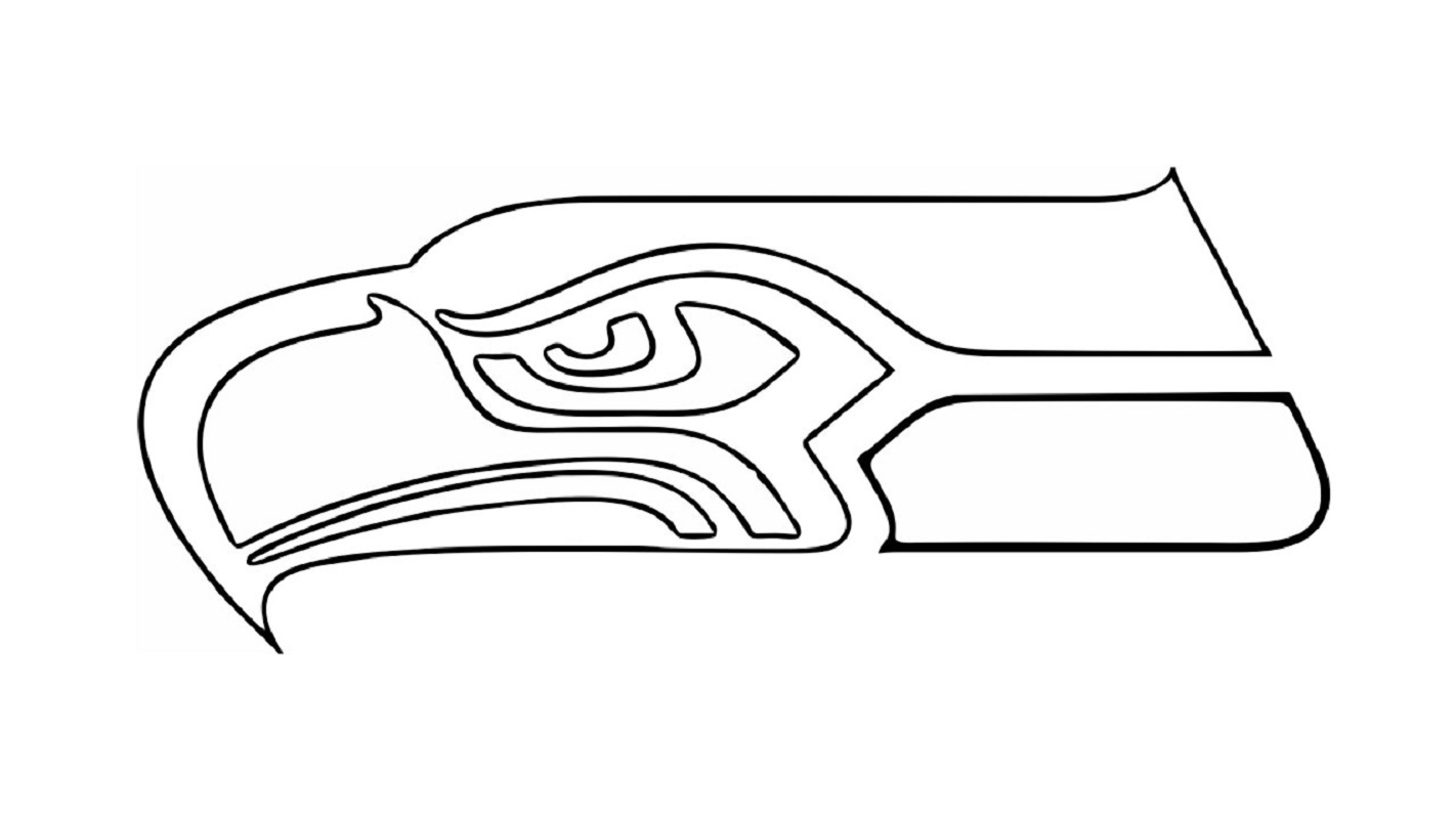 seahawks coloring pages 5