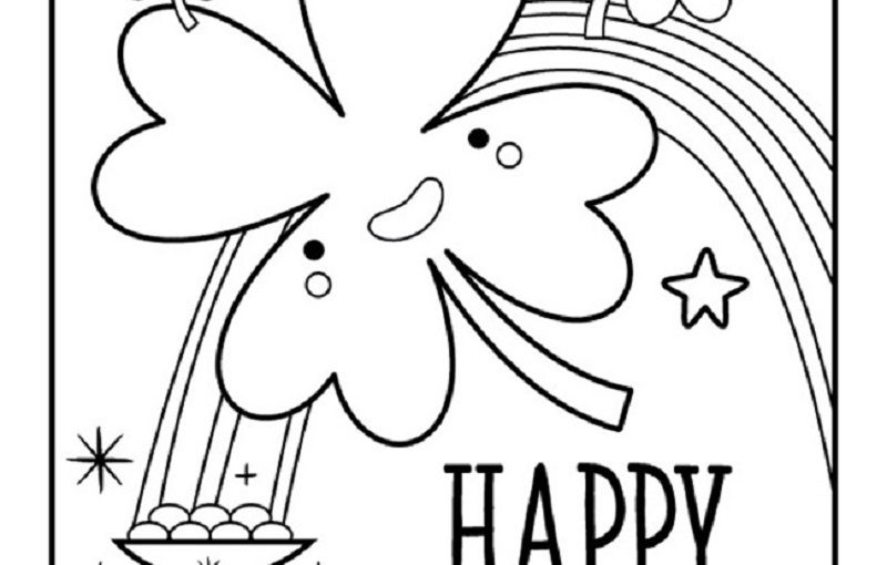 St Patrick's Day Coloring Pages for Quick Usage