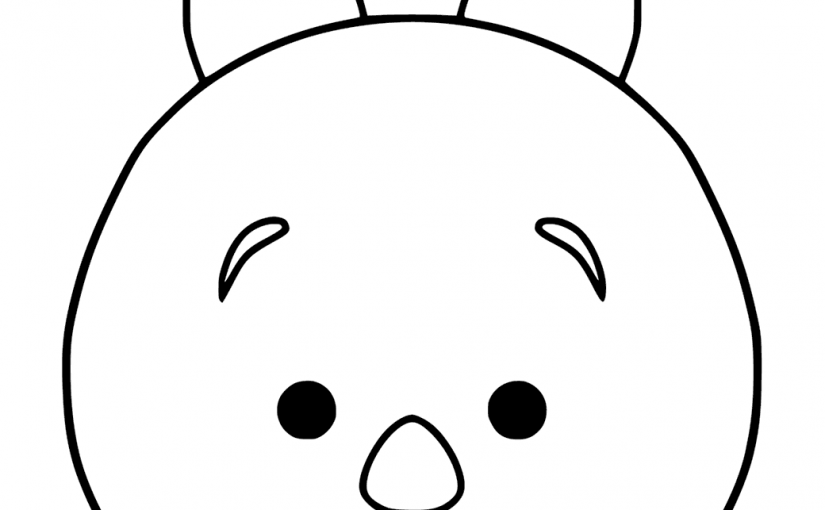 Tsum Tsum Coloring Pages: Tsum Tsum Coloring Pages For Kids