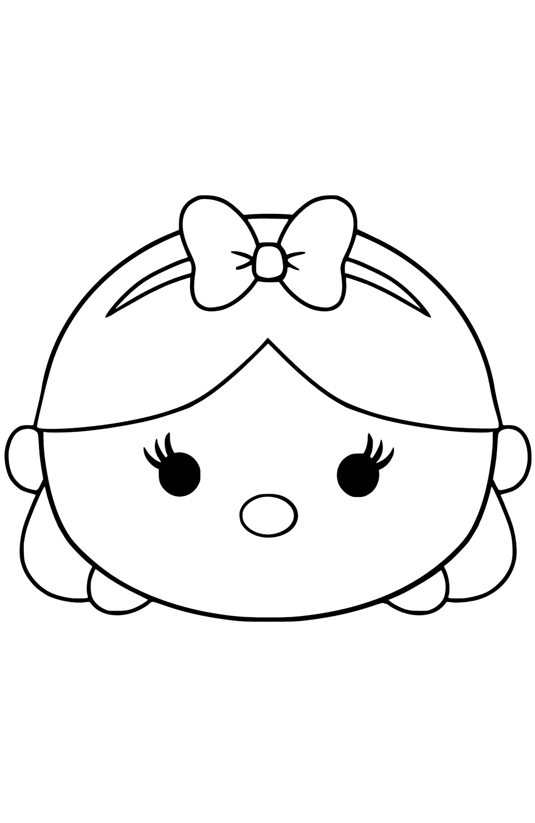 tsum tsum coloring pages three