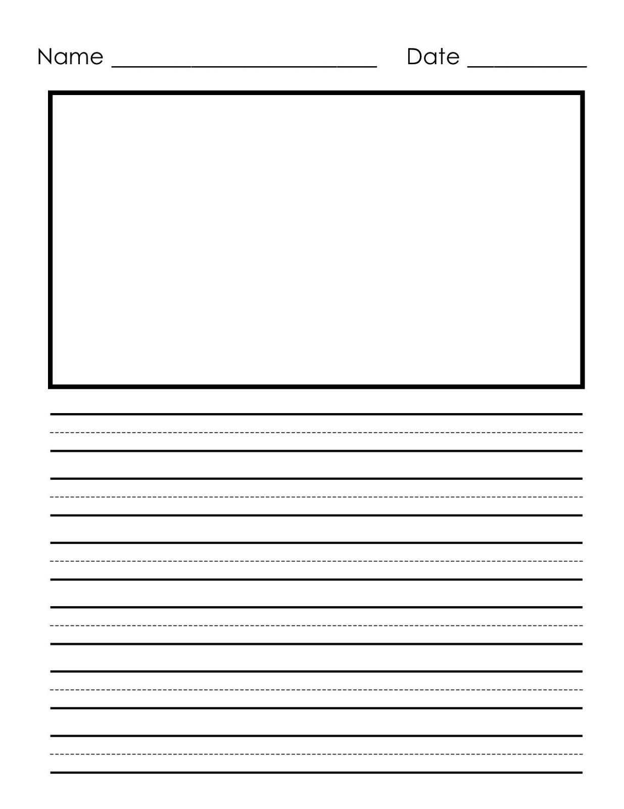 writing paper printable 1