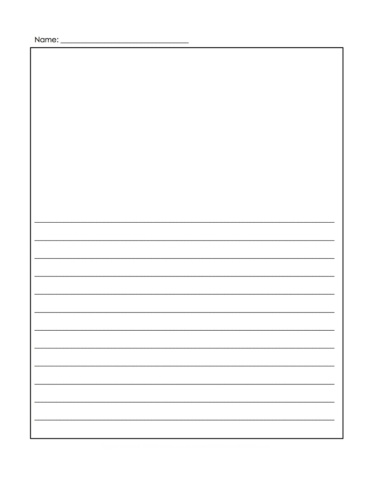 writing paper printable 2