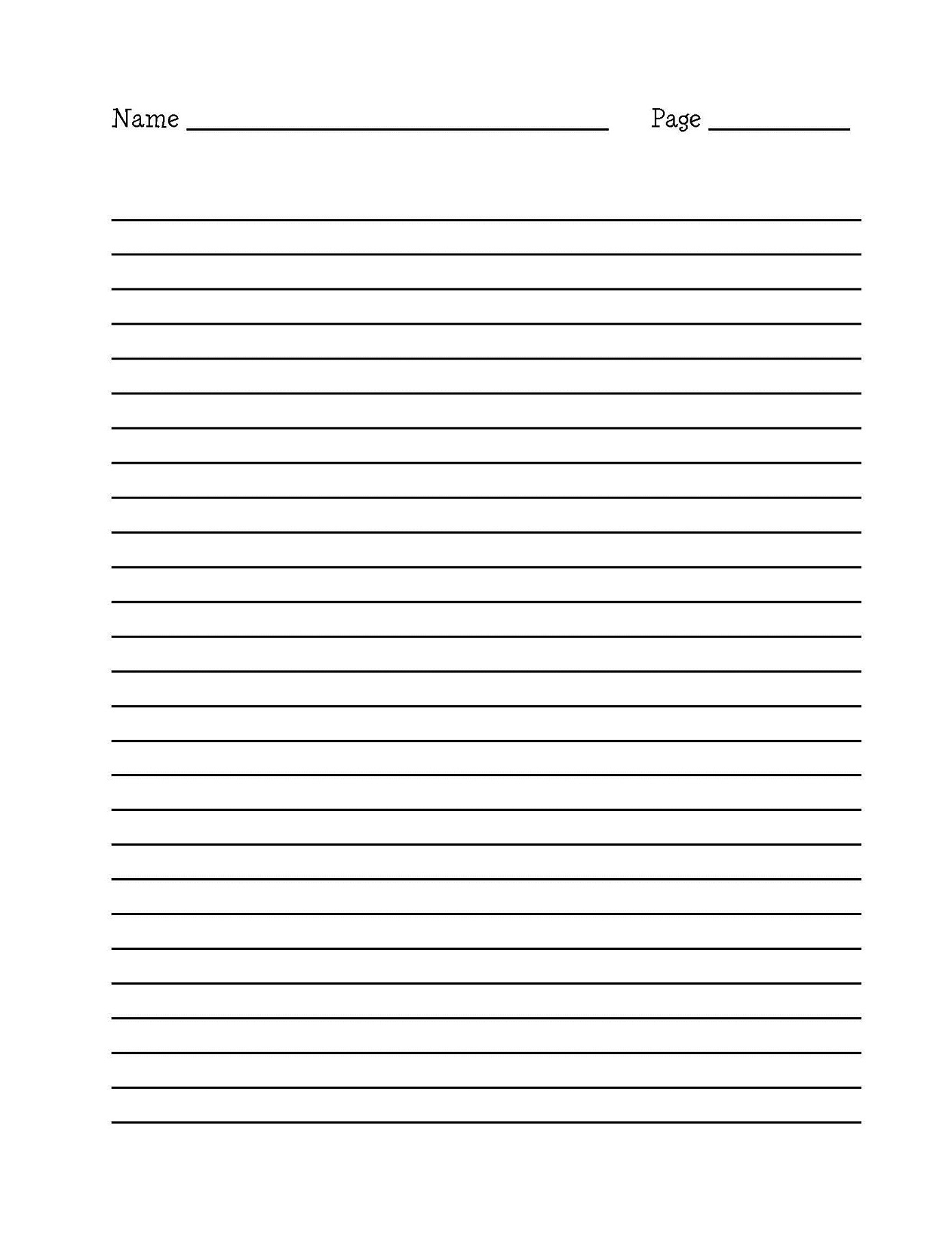 writing paper printable 3