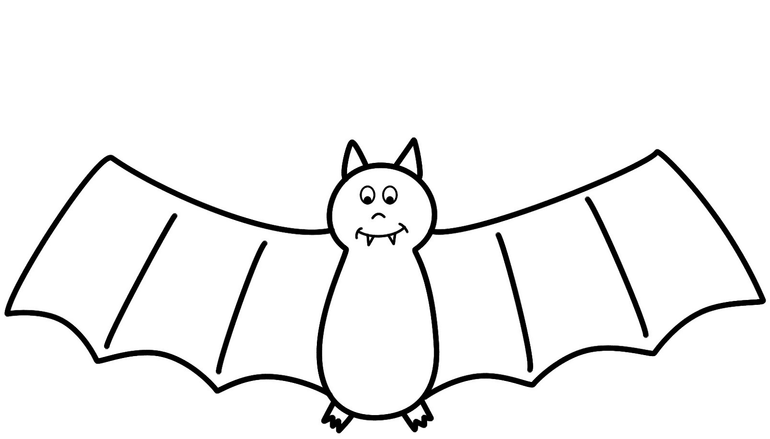 bat coloring pages 2
