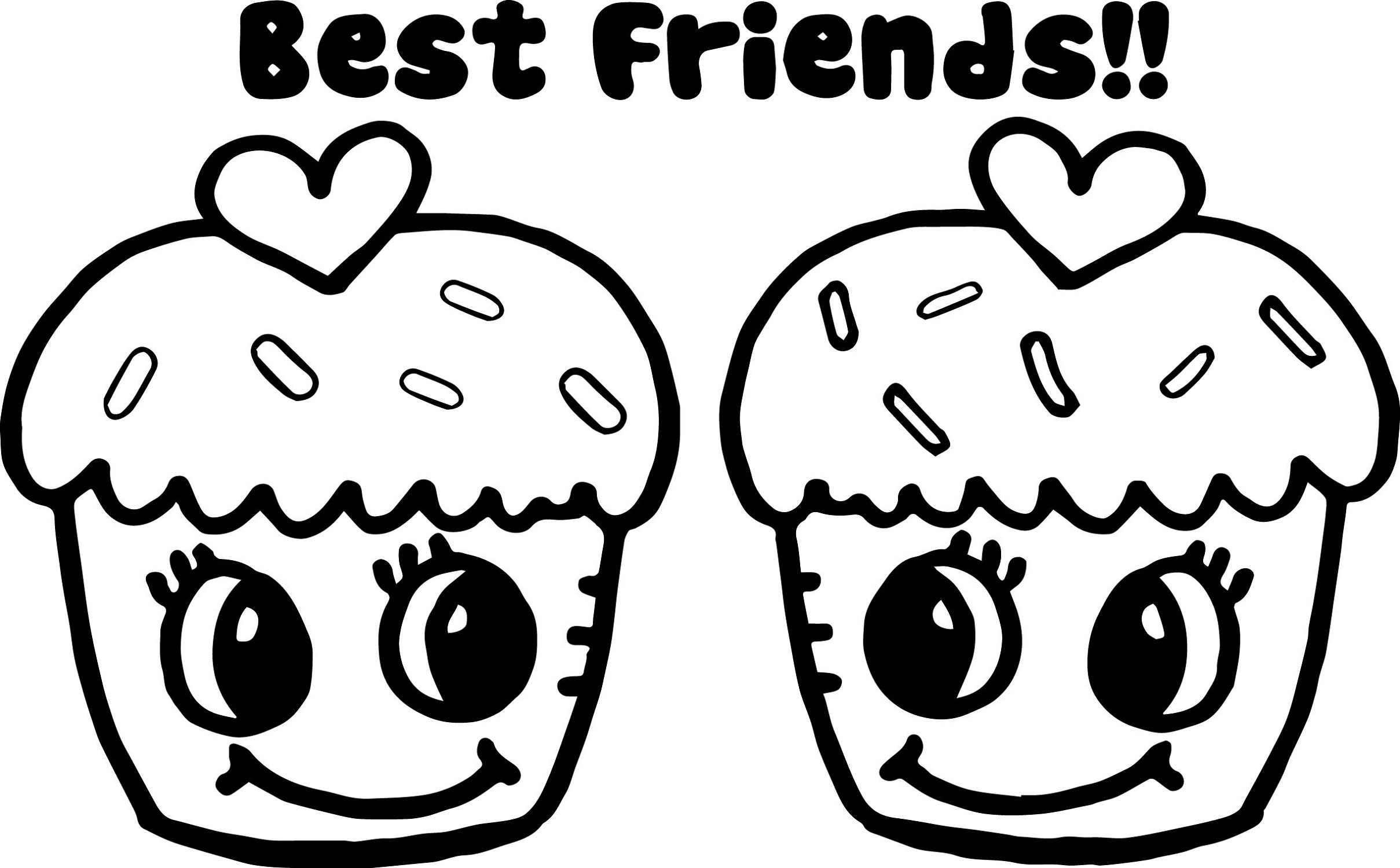 bff coloring pages 1