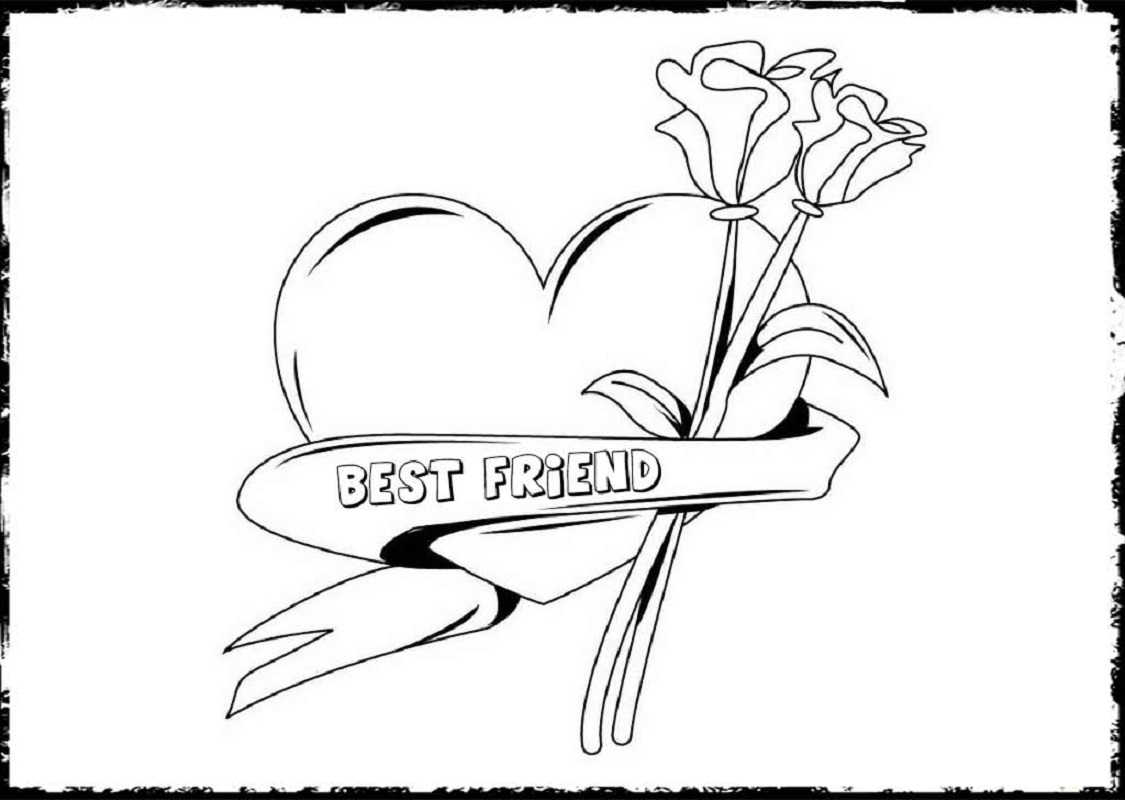 bff coloring pages 3