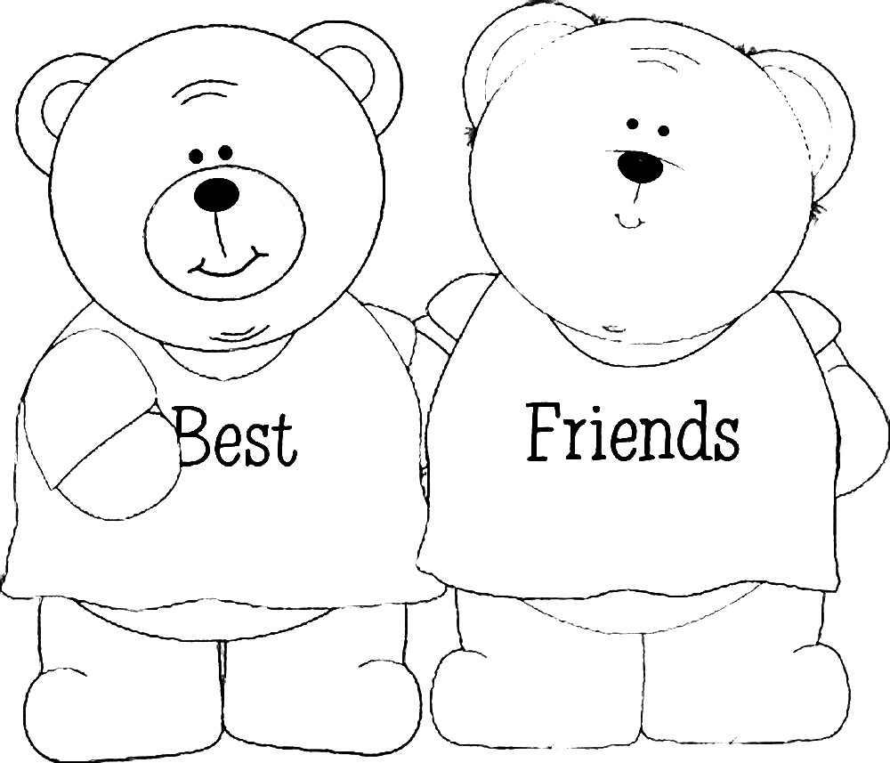 bff coloring pages 5