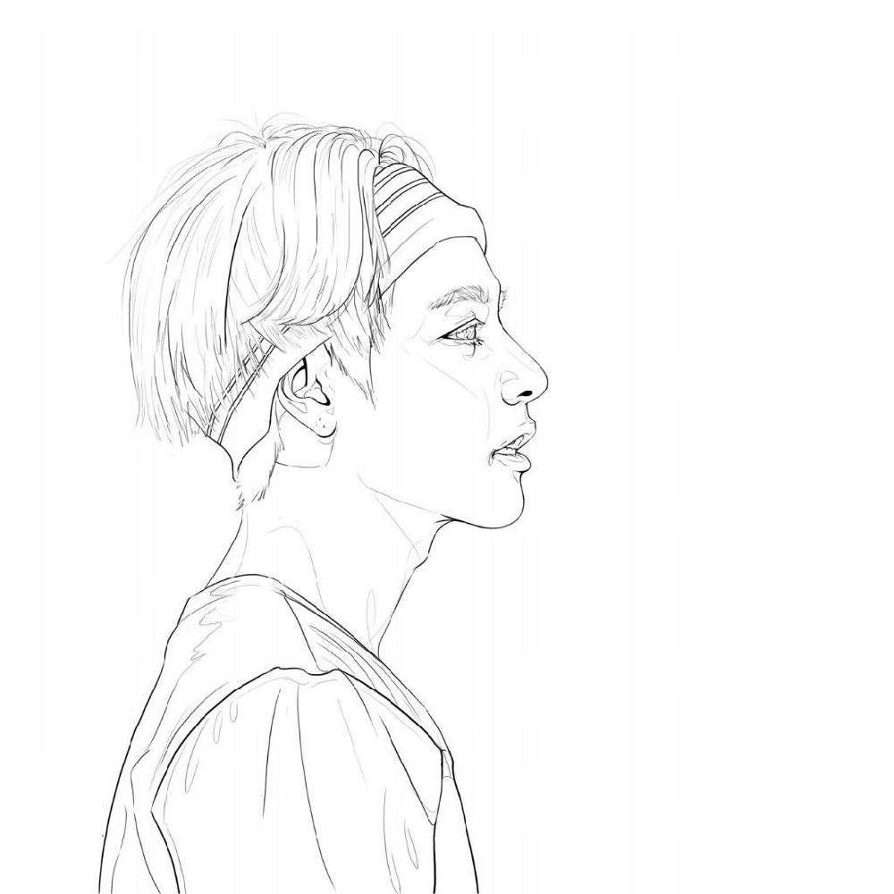 bts coloring pages 5