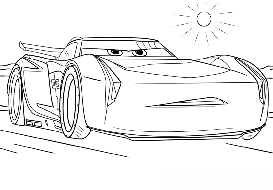 cars 3 coloring pages 1