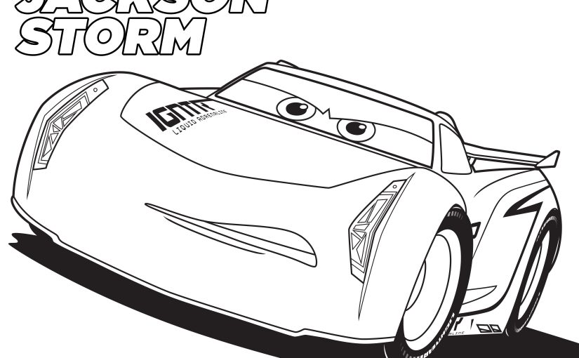 cars 3 coloring pages 2