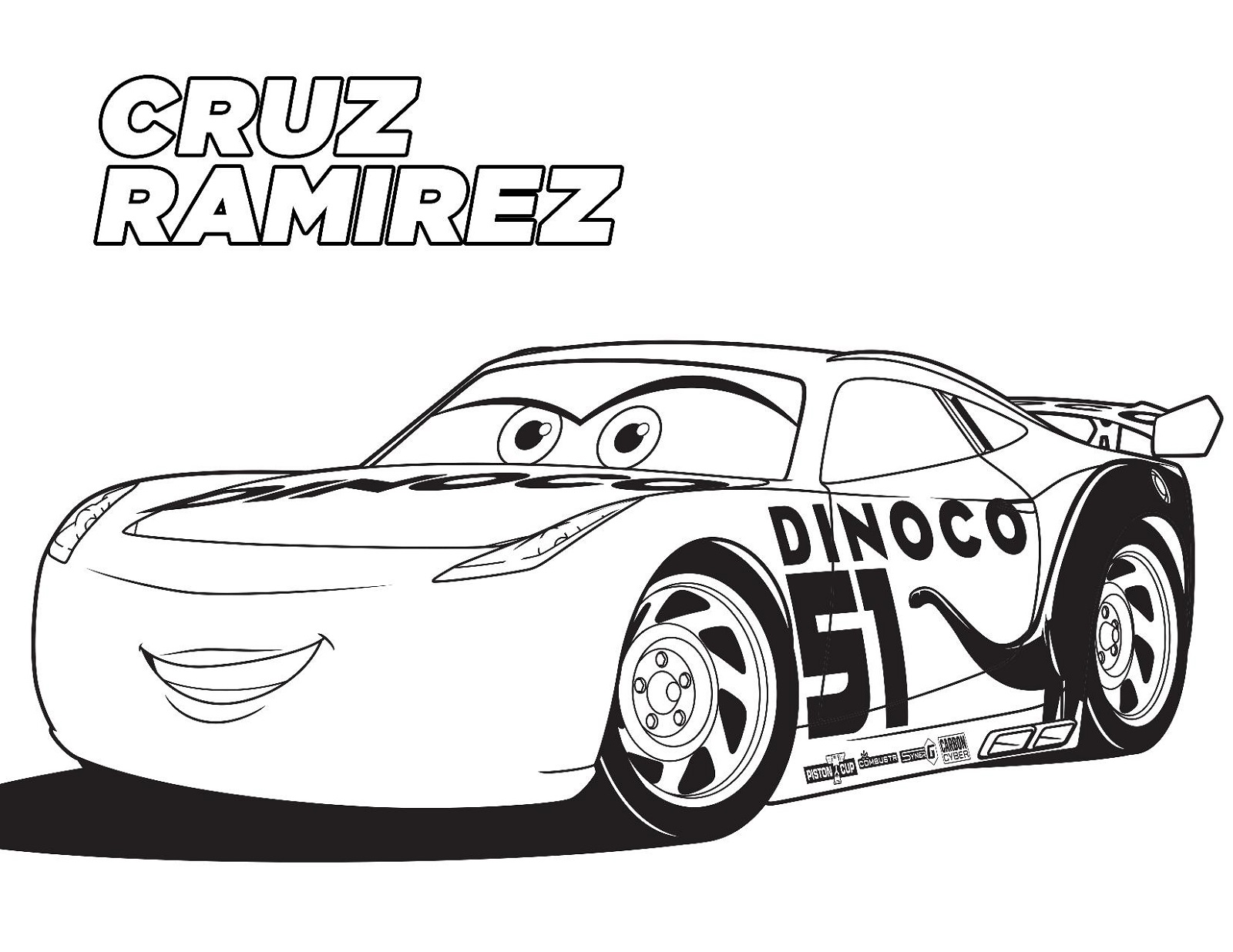 cars 3 coloring pages 3