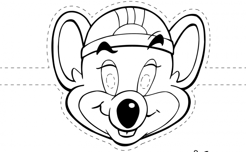 Chuck e Cheese Coloring Page For Free Usage