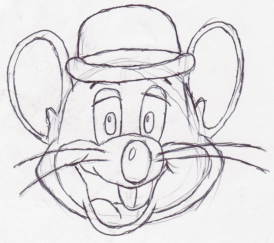 chuck e cheese coloring page 3