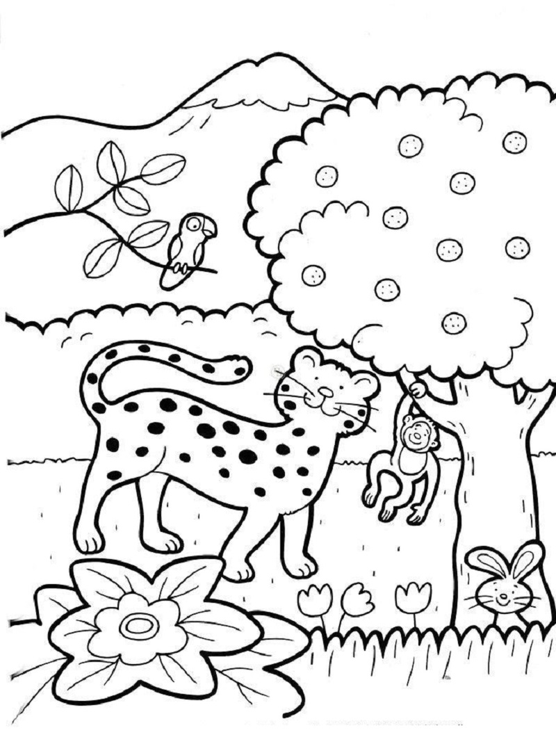 creation coloring pages 4