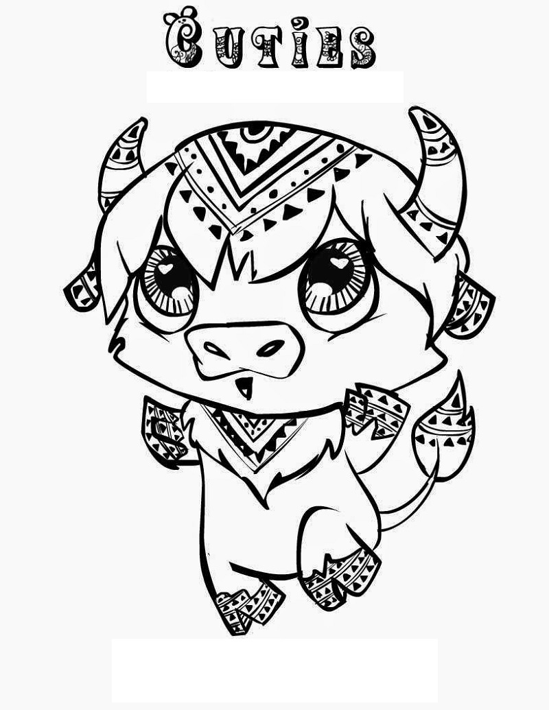 cuties coloring pages 2