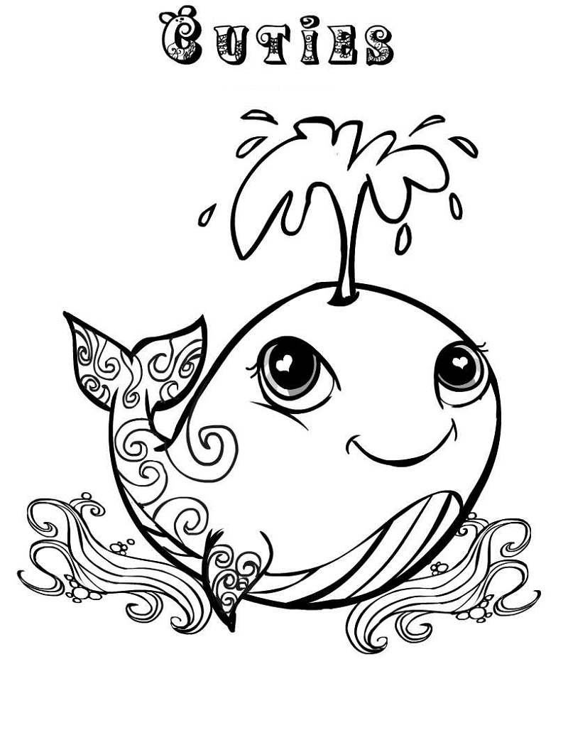 cuties coloring pages 5