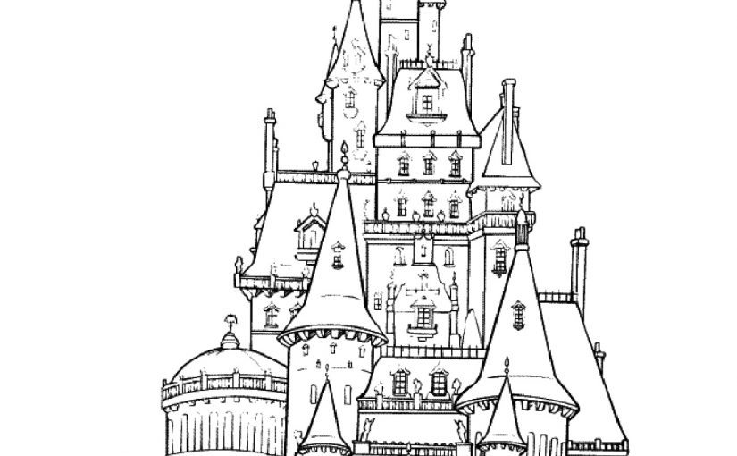 Disney Castle Coloring Pages for All Students and Teachers