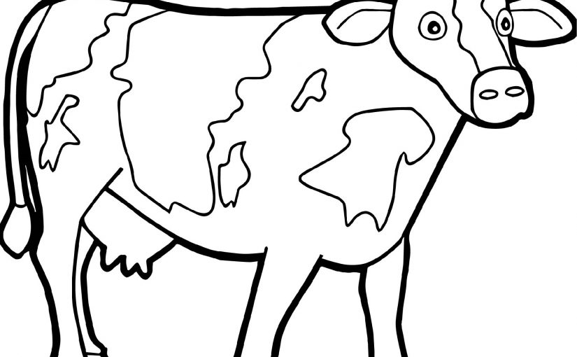 Farm Animal Coloring Pages for Young