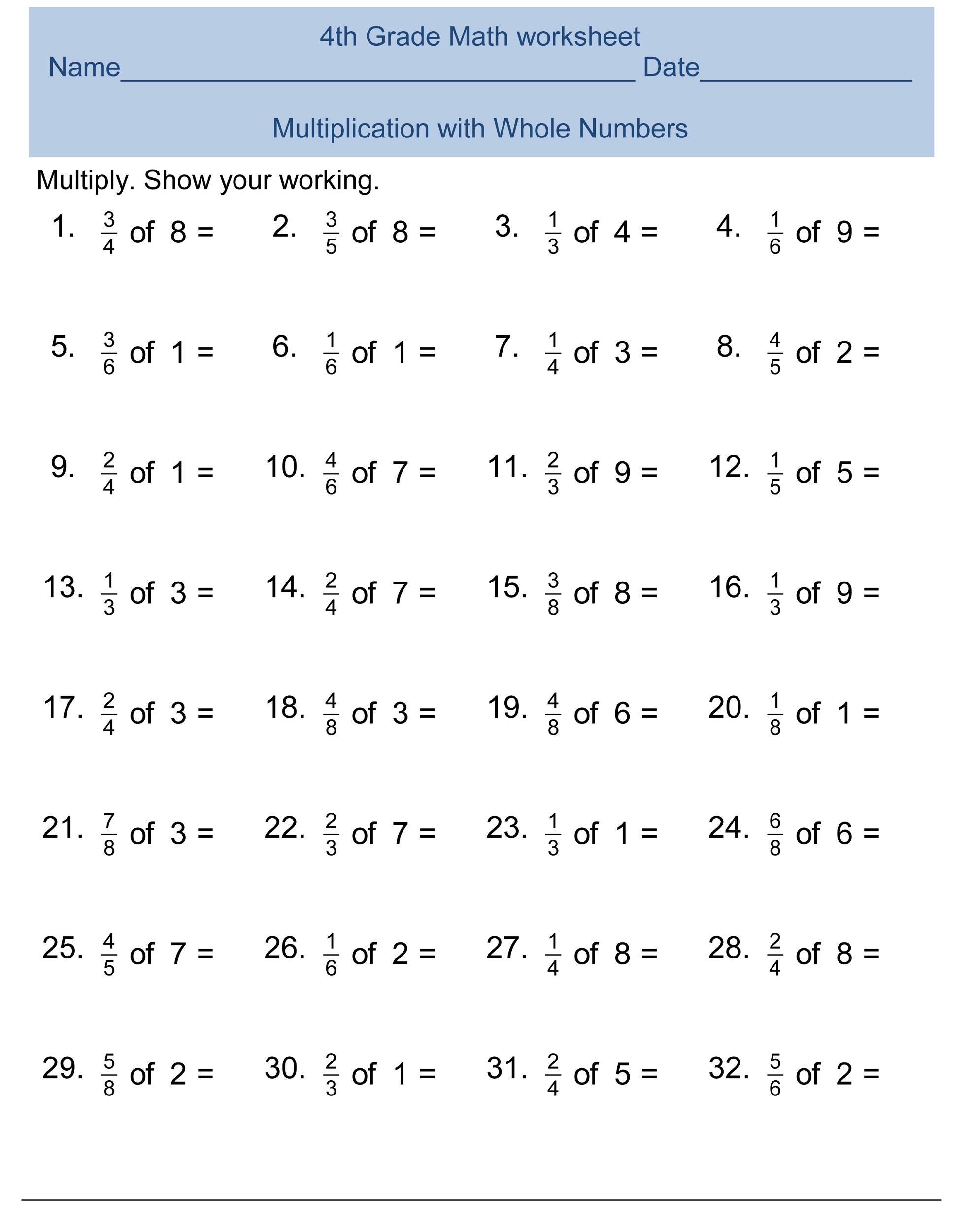 free-4th-grade-math-worksheets-2