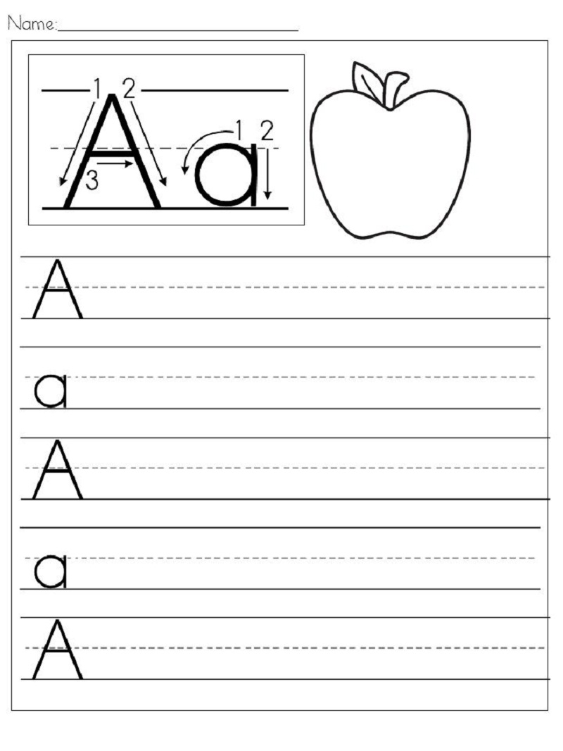 free handwriting worksheets for kids 5